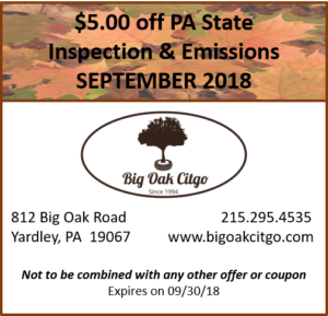 $5 off Inspection