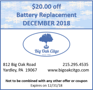 2018.12 $20 off New Battery
