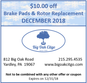2018.12 $10 off Brakes