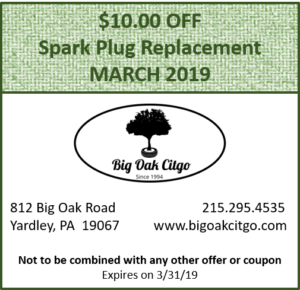 $10 off Spark Plug Replacement