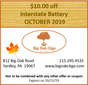 2019.10 $10 off Battery