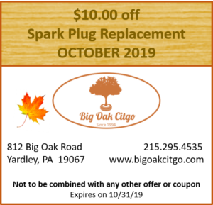 2019.10 $10 off Spark Plugs