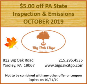 2019.10 $5 off Inspection